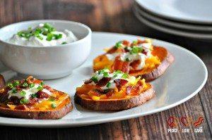 Loaded Sweet Potato Bites - 2 - Website