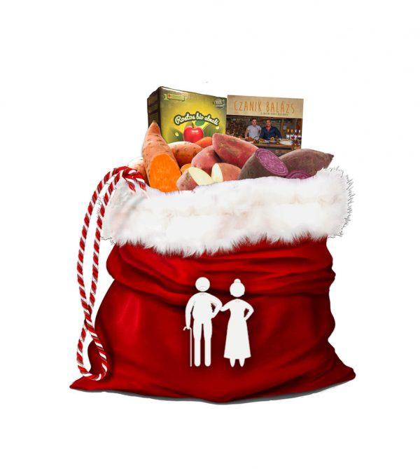 Karácsonyi Édesburgonya Csomag Nagymamáknak és Nagypapáknak