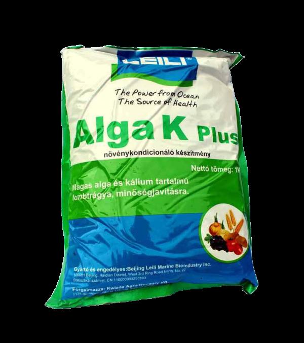 Alga K plus lombtrágya